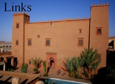 Hotel Tomboctou, ancient Kasbah in Tinghir, Todra valley.