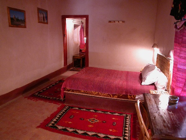 Room Into The Guesthouse Ksar El Khorbat Near Tinghir In South Morocco